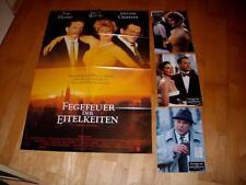 Kino Plakat+ 3 Potraitphotos; Fegefeuer der Eitelkeiten  BRUCE WILLIS von B.de P