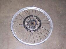87 suzuki RM250 rm 250 front wheel   rm125 125