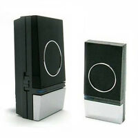 A0 - WIRELESS Cordless PLUG-IN DOORBELL Door Chime 100m Range Portable 32 MELODY