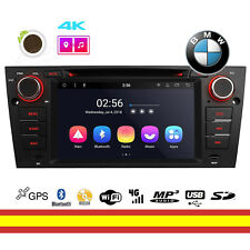 Radio CD BMW E90 Android 8.1 Octacore WIFI Bluetooth GPS Soporta 4G OBD2 DAB TDT