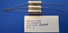 Capacitor Metalized Polycarbonate Film 0.1uF 10% 400V M83421/01-5168R Mil-Spec
