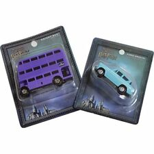 Tomica Harry Potter Knight Bus and Ford Anglia Universal Studios Japan new .