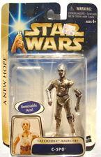 Star Wars SAGA C-3PO Tatooine Ambush rare HTF ANH  figure  MOC 1217