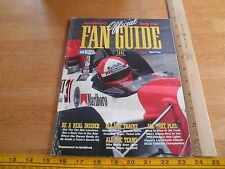 1995 Indy Car Fan Guide Auto Week drivers cars racing