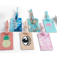 GN- Unique Pattern Suitcase Baggage Name Address ID Label Travel Luggage Tag Nat