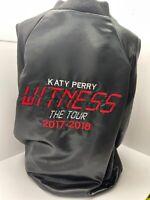 KATY PERRY 'WITNESS THE TOUR' RETRO JACKET…CREW EXCLUSIVE…VERY VERY RARE