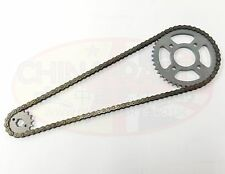 Cadena Y Ruedas dentadas Set para caber directa Motos 125cc Thunderbird-db125-9