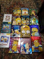 The Simpson Dvd 15 season  1,2,6,7,8,9,10,11,12,13.,14,15,16,17,20. 15 complete