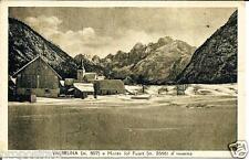 ud 116 1945 VALBRUNA (Udine) Monte Jof Fuart d'inverno - viagg. FP Ed. MS