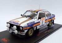 Ixo Models 1/18 Scale 18RMC037B - Ford Escort Mk2 RS 1800 - San Remo Rally 1980