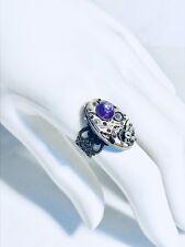 Ladies Gotham Watch Movement Steampunk Filigree  Ring Art Deco Antique