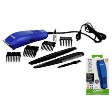 CONAIR Basic Cut Home Hair Cutting Clippers 10 PC Set Barber Kit HC99FD BLUE
