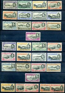 Ascension 1938 defin set with all perf variants fine used SG cat approx £375