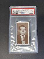1938 Churchman #42 Jack Hart Boxing Personalities PSA 7 NM