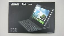 ASUS Folio Key Qwerty Keyboard for MeMo Pad Smart Bluetooth Android NIB