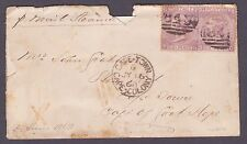 SG 104  6d Lilac X 2 Plate 6 to Cape of Good Hope Cat £190 each