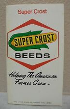 Original 1977 78 Super Crost Seeds Farmer's Handbook Pocket Book Farm  Calendar