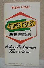 Original 1977 78 Super Crost Seeds Farmer's Handbook Pocket Book Farm  Calendar