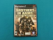 Brothers in Arms Road to Hill 30 PlayStation 2 Video Game Released 2005 Ubisoft