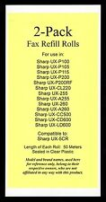 2-pack of UX-5CR Fax Refills for Sharp UX-255 UX-A255 UX-260 UX-A260 UX-CL220