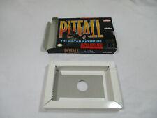 PITFALL MAYAN ADVENTURE Super Nintendo SNES Authentic Box & Insert NO GAME CART!