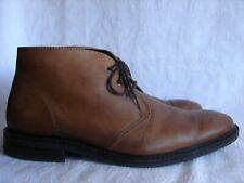 Alfani Men's Brown leather ankle boots size 9.5 M