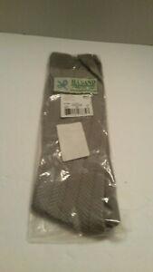 Vintage Haband Polyester Dress Socks Size Large Gray Sealed New