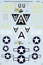 MICROSCALE DECALS 1/72 BOEING B-17F Flying Fortress #ss72804