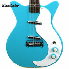 Danelectro '59 Mod New Old Stock Plus Baby Come Back Blue Electric Guitar - NEW