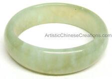 Chinese Jade Jewelry Chinese Jade Bangle - Light Green - Chinese Jade Bracelet