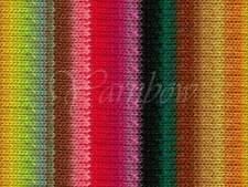 NORO ::Kureyon #352:: wool knitting yarn Fall-2014 Carrot-Lemon-Lime-Aqua-Poppy