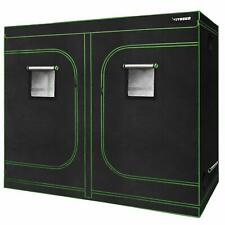 "VIVOSUN 96""x48""x80"" Mylar Hydroponic Grow Tent Room for Indoor Plant Growing 4x8"