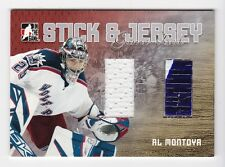2006-07 ITG Heroes and Prospects Sticks and Jerseys # SJ-15 Al Montoya SP /100