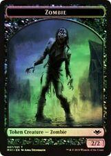 English Modern Horizons MTG Magic 10x Zombie Token Foil NM-Mint