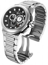 Invicta Mens Reserve Specialty Black Swiss Made Chronograph Bracelet Watch 14300