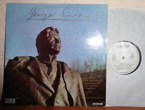 GEORGE ENESCU  SUITE NO.3  CONCERT-OVERTURE  C.SILVESTRI  ELECTRECORD STEREO LP
