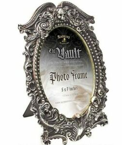 Alchemy England - Masque of the Black Rose Picture Frame Skull Gothic Decor Gift
