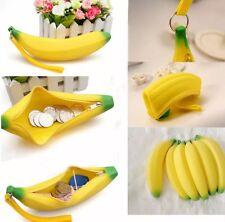 1pc Carino Kawaii popolari in Silicone portatile Banana Portamonete Astuccio Borsetta Borsa da muro