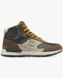 NEW Timberland Men's Field Trekker Fabric and Leather Mid Hikers Size 9.5 11