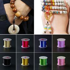 1 Roll Strong Stretchy Elastic Crystal Thread Cord String DIY Bracelets Beading