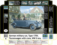 Masterbox 35113 1:35th German Military Car Type 170V Tourenwagen with Crew WWII