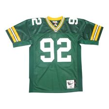 Reggie White 1996 Green Bay Packets Authentic Mitchell & Ness Home Jersey 44