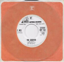 T. REX  The Groover  rare promo 45 from 1973  MARC BOLAN