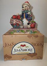 JIM SHORE Heartwood Creek JOLLY OLD SANTA PAWS Christmas Decor 4034391 MIB