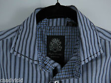 English Laundry Blaque Label by Christopher Wicks Button Shirt Mens Size Small S