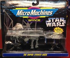 Star Wars Micro Machines Empire Strikes Back with Tie Starfighter, Imperial AT-.