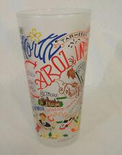 "New listing Catstudio Cat Studio Frosted North Carolina Glass 2007 6"" Tall"