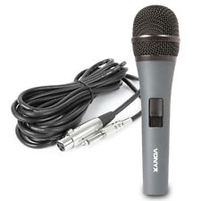 Vonyx Handheld Dynamic Vocal Microphone Metal Body with Switch 5m Cable DJ PA