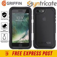 GRIFFIN SURVIVOR EXTREME TOUGH CASE FOR iPHONE 8 PLUS/7 PLUS - BLACK/TINT