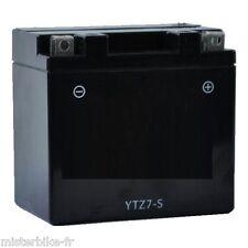 Batterie YTZ7S CTZ7S Moto Scooter Quad de qualité garantie 1An Prêt à l'emploi